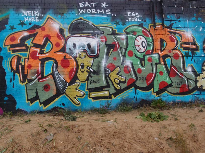 Boner SSH Graffiti Piece